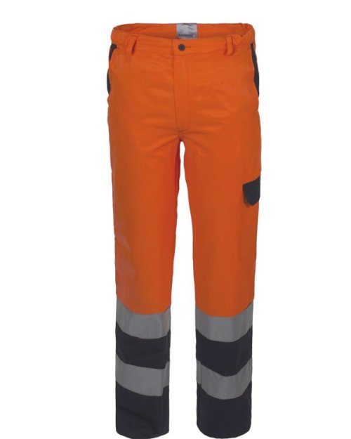 Pantalone lucentex bicolore