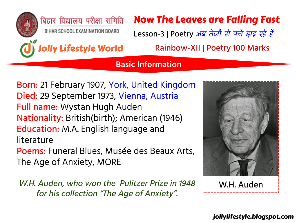 Now-The-Leaves-are-Falling-Fast-by-W.H-Auden