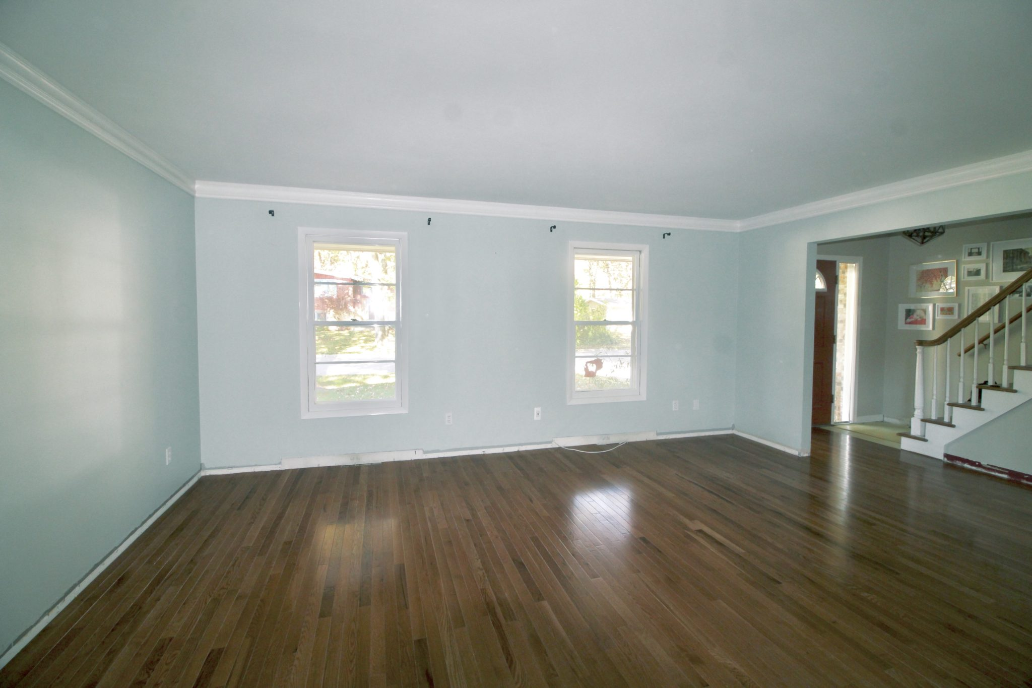 How to Install Hardwood Floors - Jolly Little Times