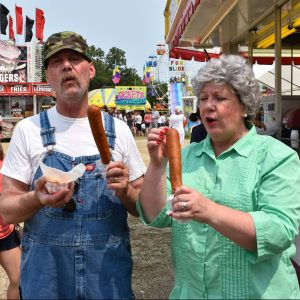 Ole and Lena at the State Fair