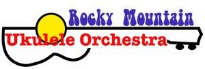 Rocky Moutain Ukulele Orchestra Logo