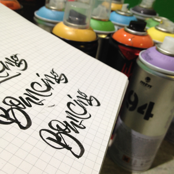 Joluvian Lettering Graffiti