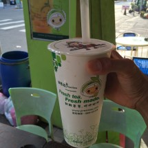 Very cool pearl milk tea