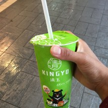 Pearl milk tea/boba from Kingyu