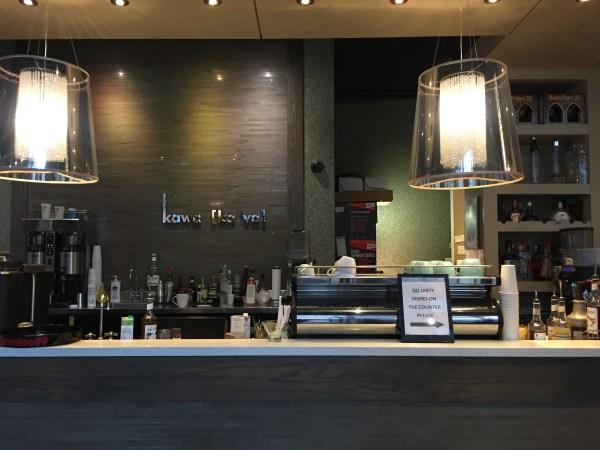 Kawa Espresso Bar front counter.