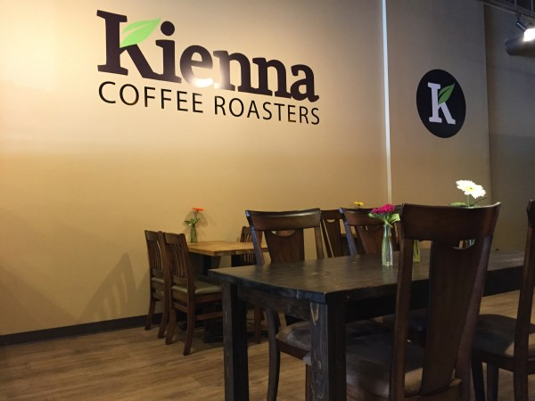 Newly opened Kienna Cafe in Kensington.