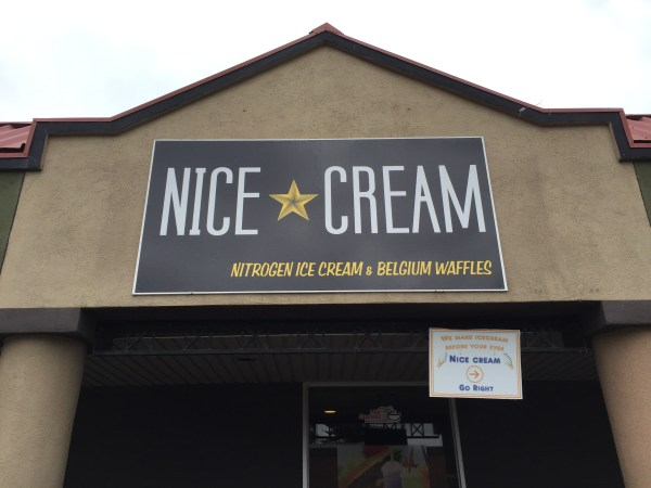 Nitrogen Ice Cream at Nice Cream.