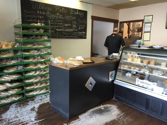 Village Pita Bakery storefront.