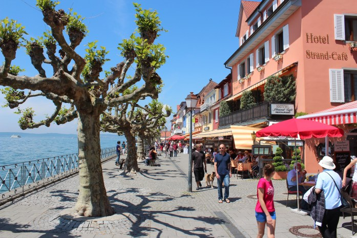 Konstanz, situated on Lake Contance/Bodensee