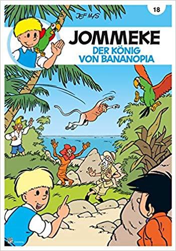 Jommeke - Der König von Bananopia