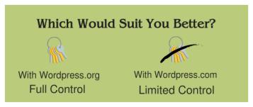 Wordpress comparison