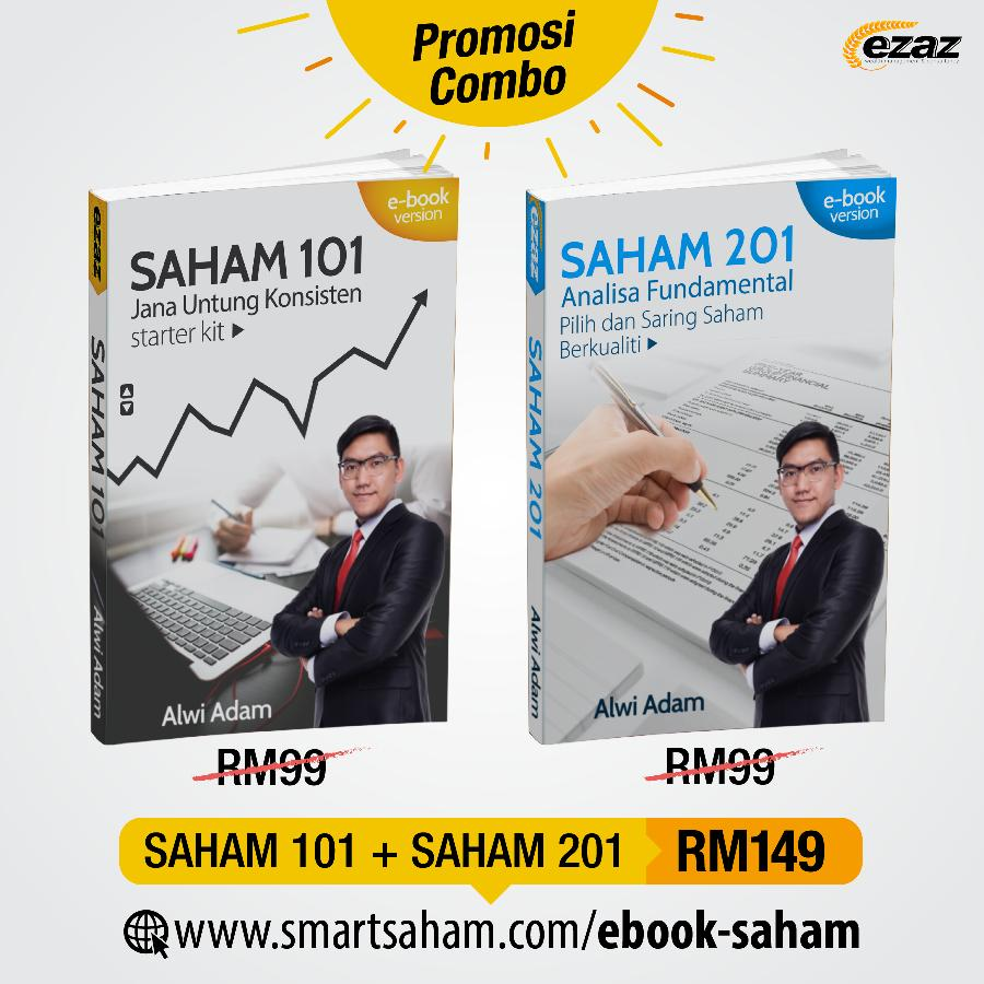 combo ebook saham 101 201
