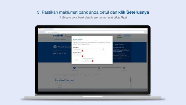 pengeluaran asb online myasnb