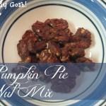Pumpkin Pie Nut Mix