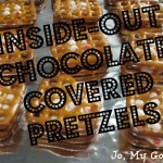 Inside-Out Chocolate Covered Pretzels