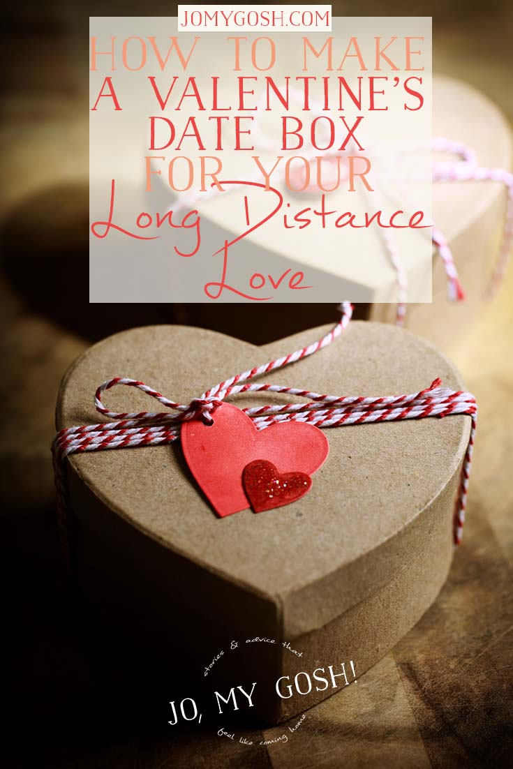 How to make a valentine 39 s date box for your long distance love for Valentine s day meals to cook together