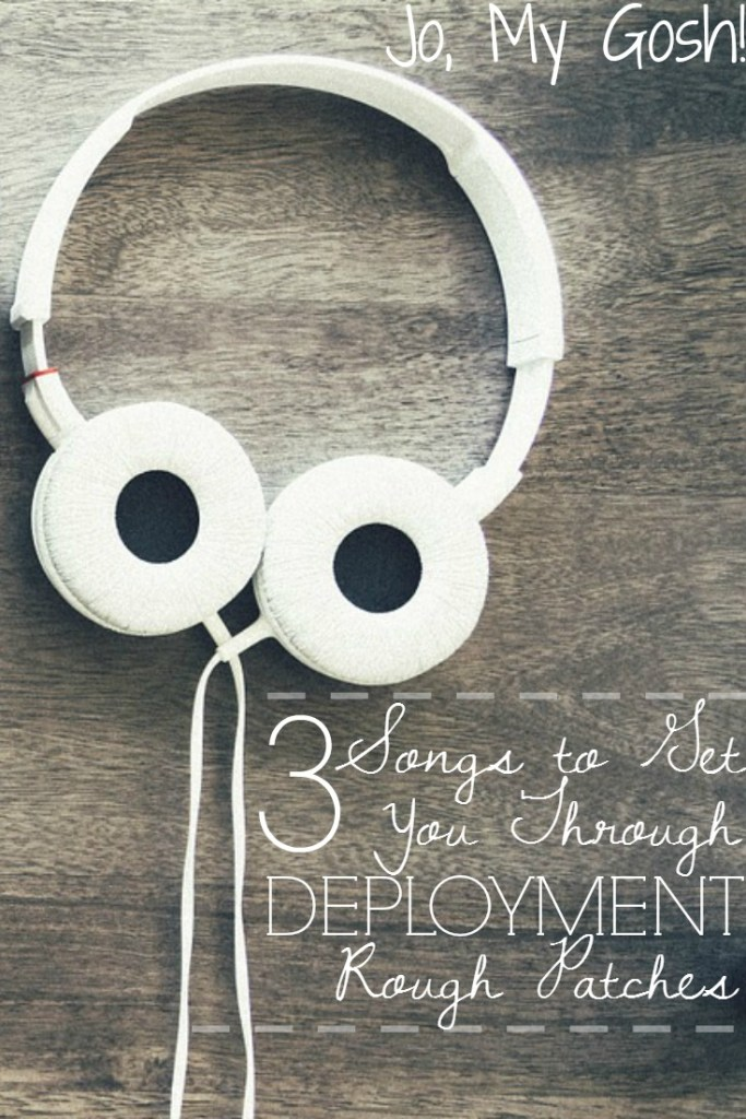 Love these songs to listen to during deployment!