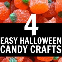 Love these ideas for dressing up Halloween candy! Making these for Halloween command care packages!