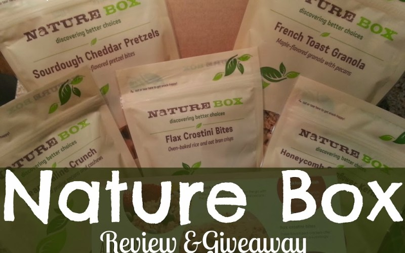 Sponsored: NatureBox Review & Giveaway