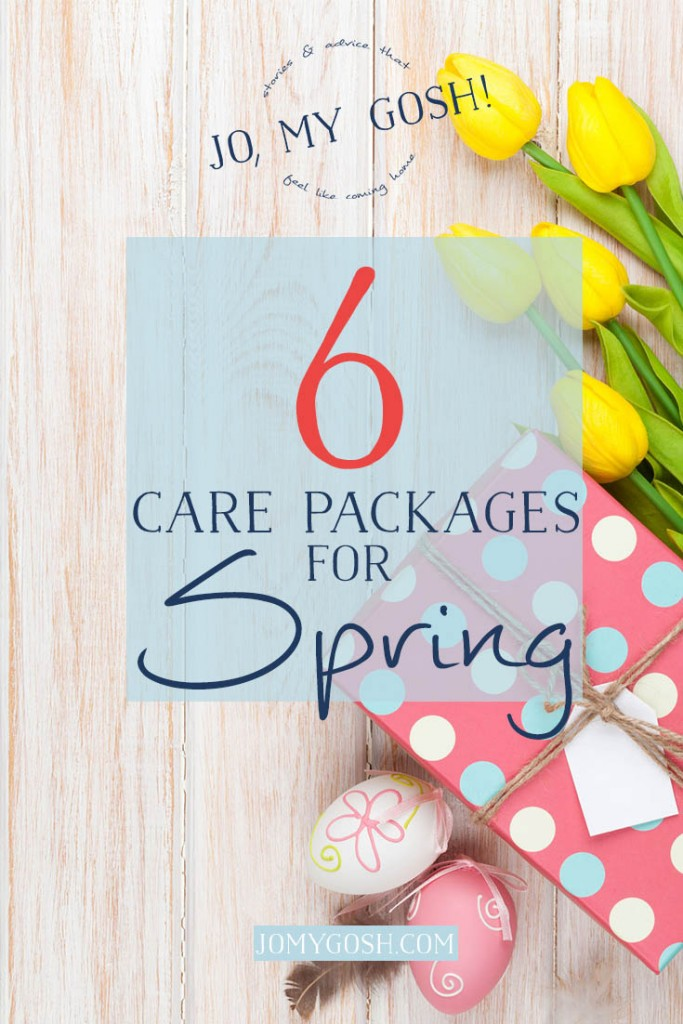 Care packages for spring-- lots of pictures and ideas!