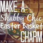 Make a Shabby Chic Easter Basket Charm