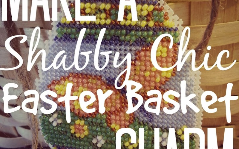 Make a Shabby Chic Easter Basket Charm