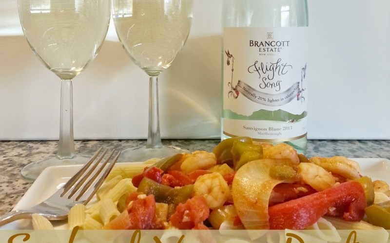 Guilt-free Seafood Veggie Pasta with Brancott Estate Wines