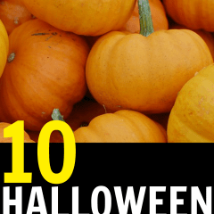 10 care package ideas along with recipes, DIYs, and gift ideas for Halloween.