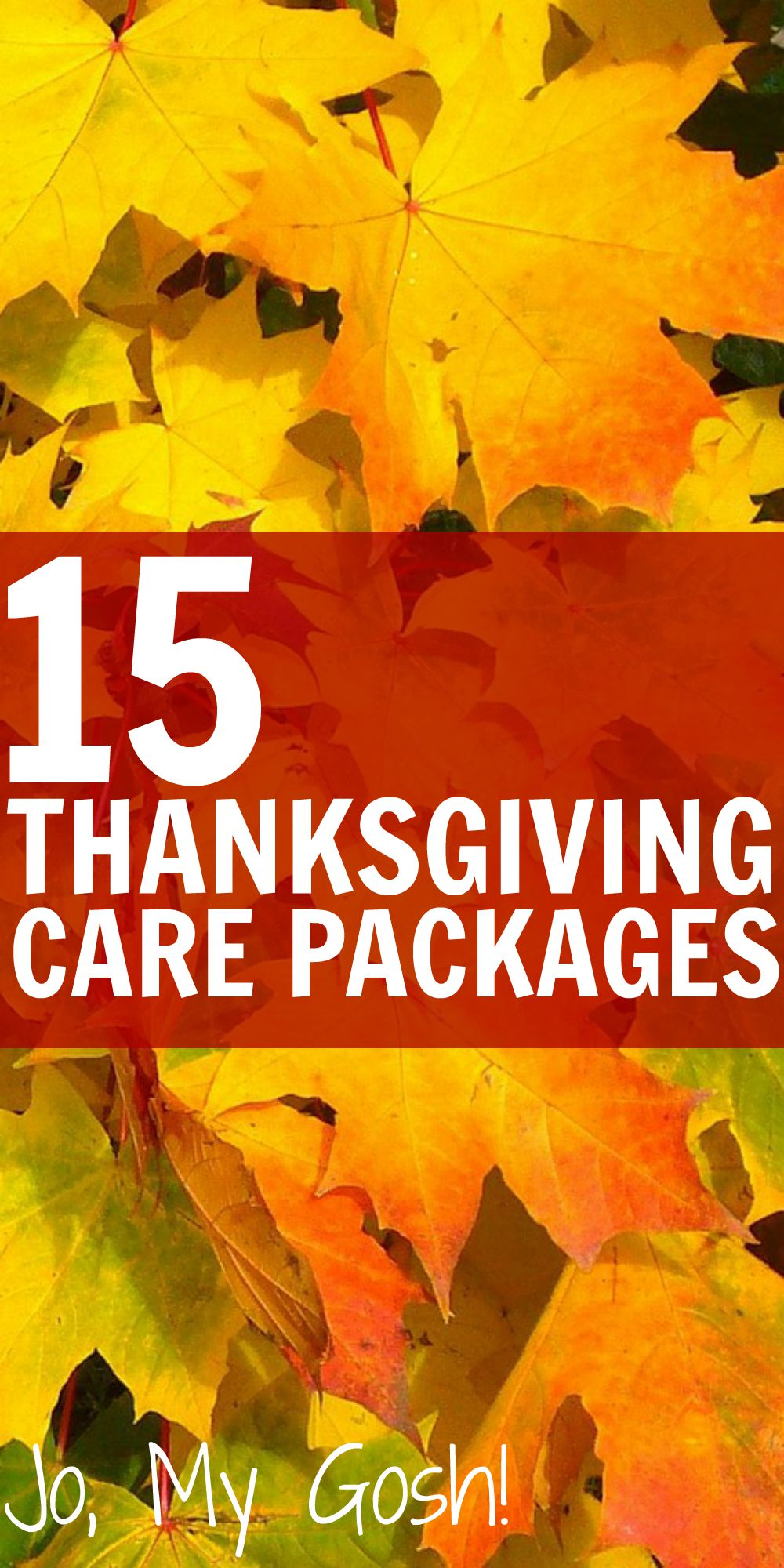 15 Thanksgiving Care Packages