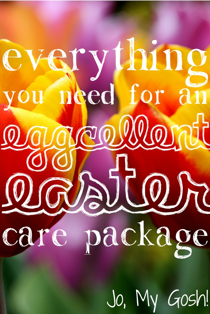 Everything you need for an eggcellent easter care package ready to send that easter care package here are a bunch of awesome ideas gifts and recipe sure to put a smile on your loved ones face negle Choice Image