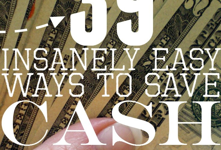 39 Painless Ways to Save Money