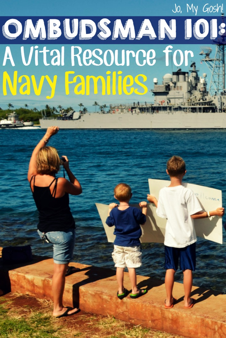 Great overview on ombudsmans, resources, and how they can help Navy families. #milfam