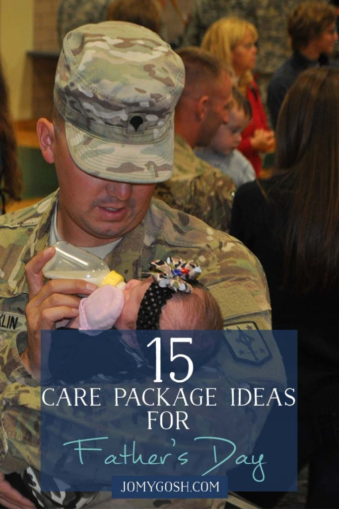 Lots of good ideas for Father's Day care package themes. DIYs and printables are also included. (1)