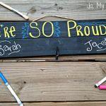 Make a Pallet Blackboard Student Work Brag Board