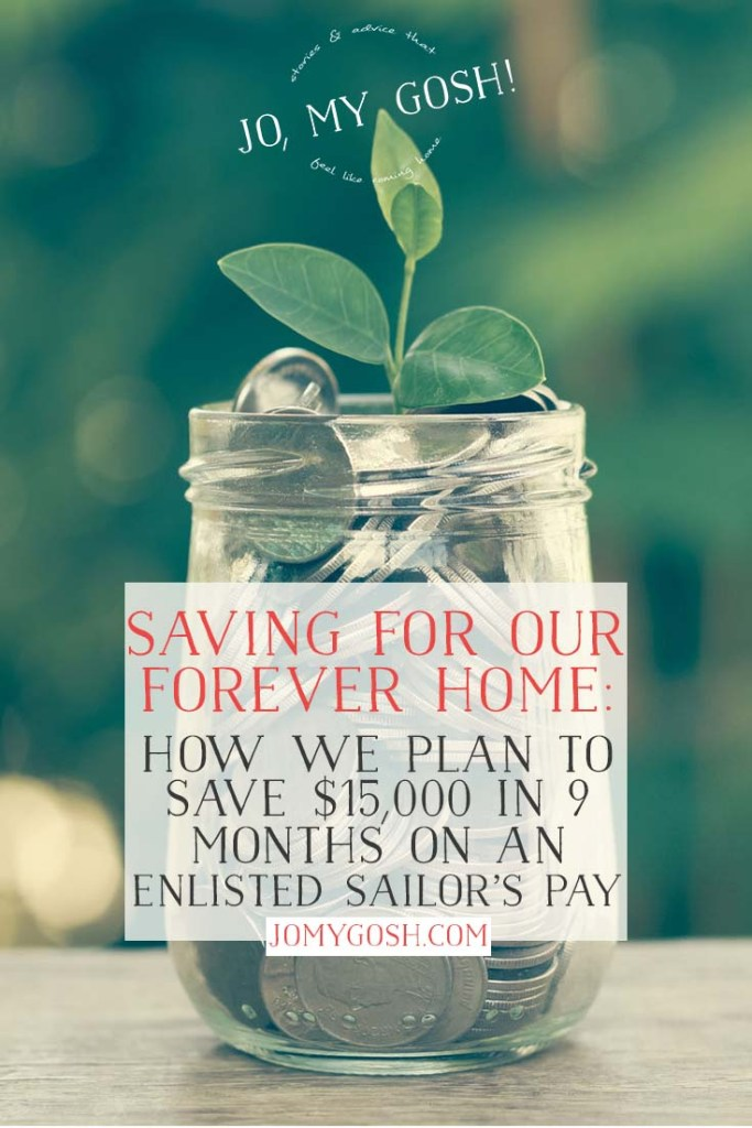 How one military family is trying to save for their forever home.
