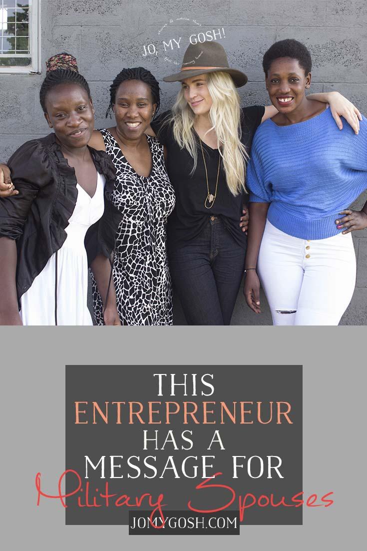 Love this idea for entrepreneurship! #milspouse