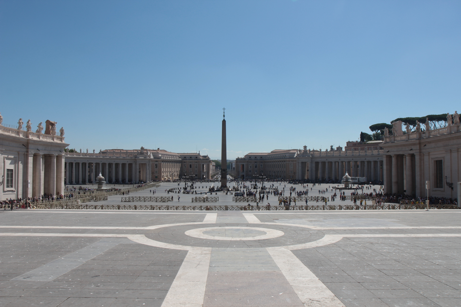 St. Peter's Square, Vatican City.