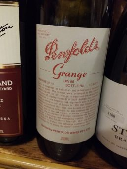 Penfolds 2012 Grange Shiraz