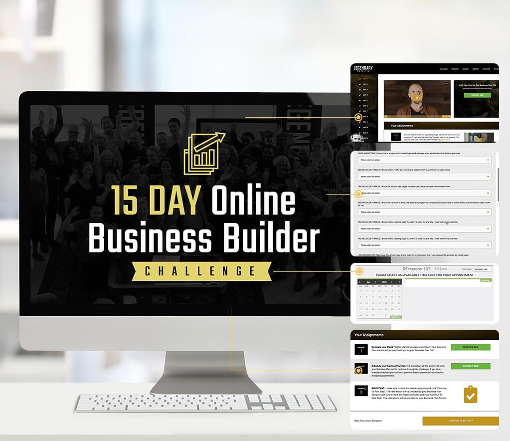 Legendary Marketer 15 Day Business Builder Challenge