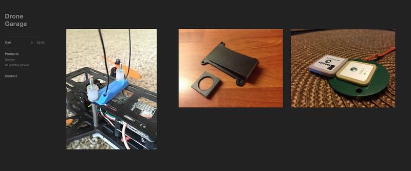 Drone Garage 3d printing services! | Drone Garage