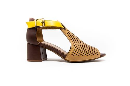 Women heeled sandals