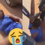 Nigerian Woman Disgraced Publicly For Stealing iPhone 12