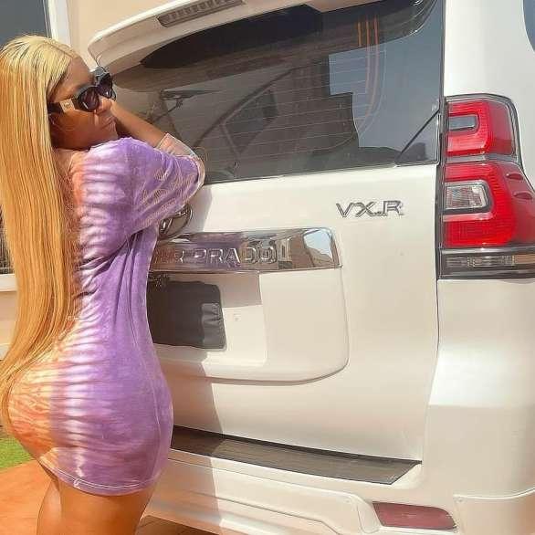 Destiny Etiko denies allegation of receiving her Prado SUV from a married oil businessman (video)