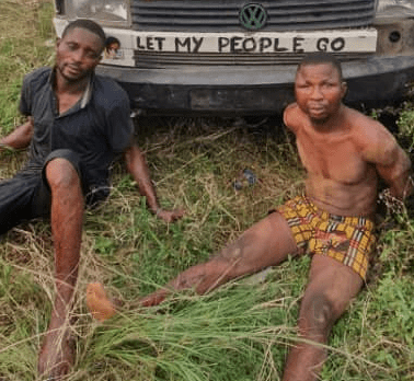 Suspected Robbers Arrested In Ogun State