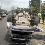 Nigerian pastor survives deadly motor accident without a scratch