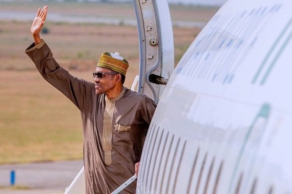 President Buhari Moves To London For His Health Check Up
