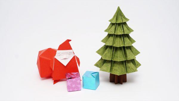 Origami Christmas.Origami Christmas Tree V2 Jo Nakashima