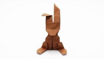 Origami Dollar Bill Hare (Barth Dunkan) - YouTube | 200x350