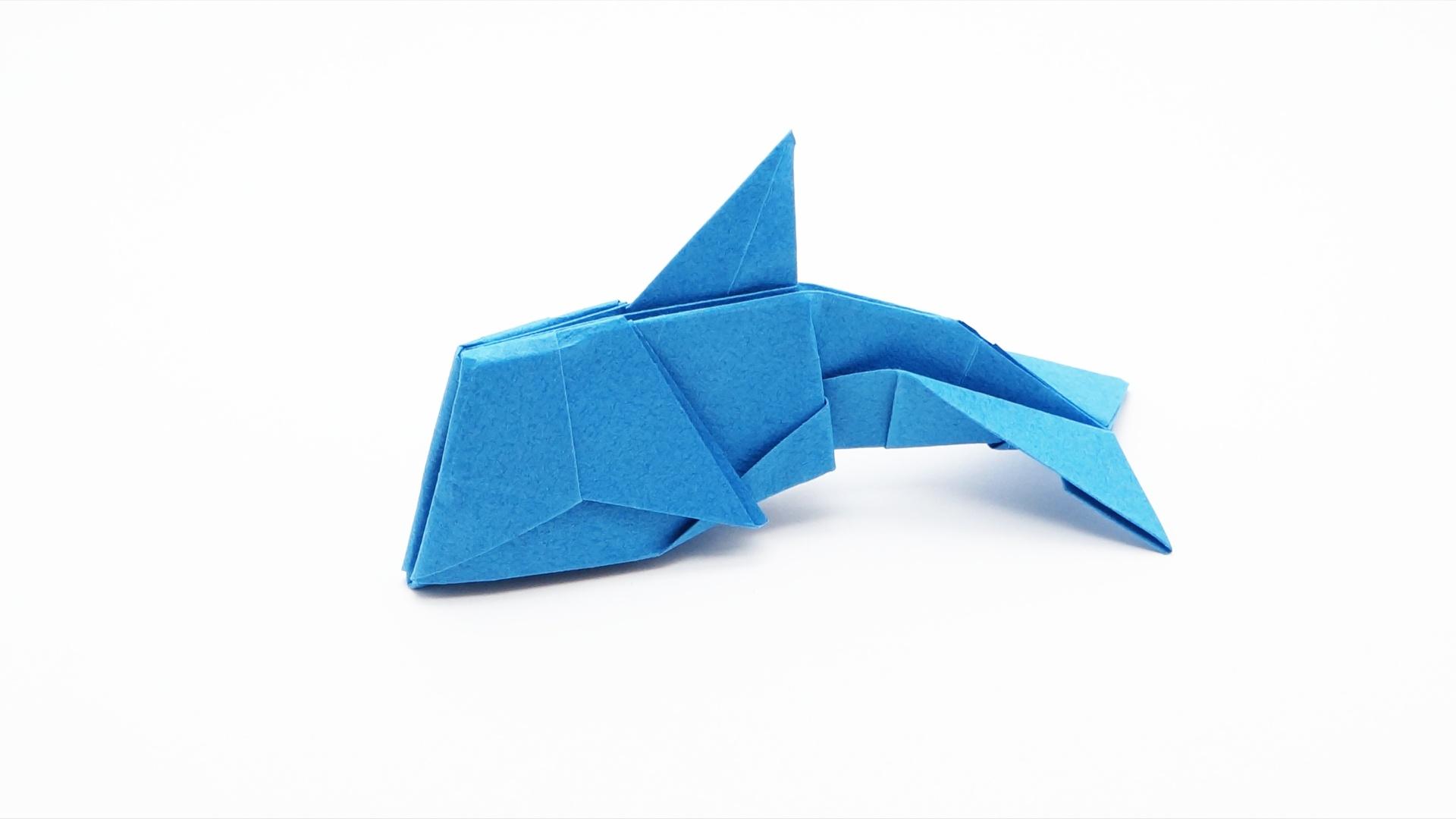 Origami Dolphin  U2013 Jo Nakashima