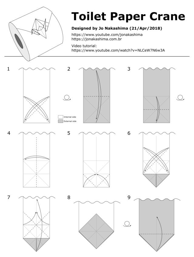 How To Make An Origami Peace Crane - YouTube | Origami crane ... | 849x640